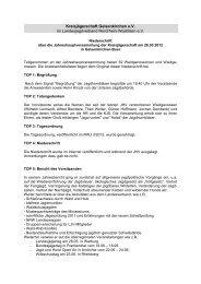 Niederschrift _JHV_2012 - Kreisjägerschaft Gelsenkirchen e.V.
