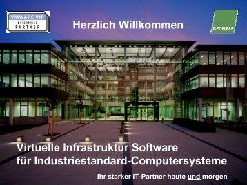 Virtuelle Infrastruktur-Software für Industriestandard-Computersysteme