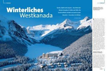 Winterliches Westkanada - Gunnar Habitz