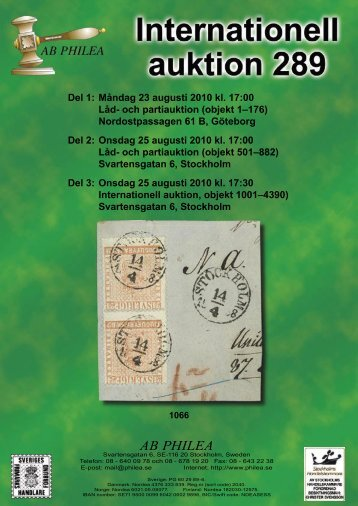Auktion 289 - Philea