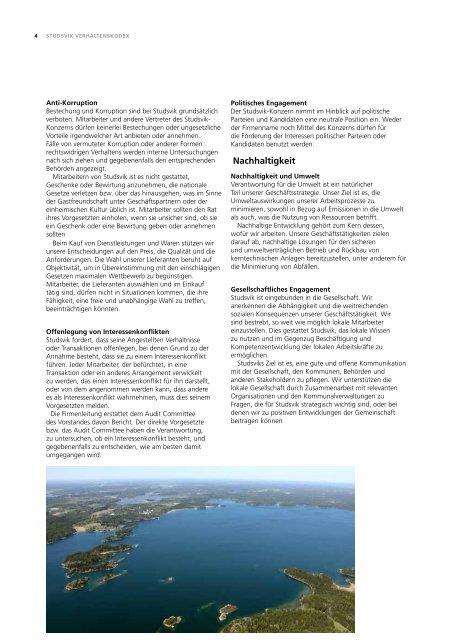 Verhaltenskodex - Studsvik