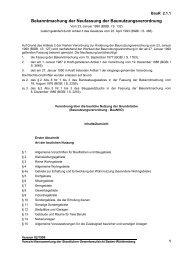 Bekanntmachung der Neufassung der Baunutzungsverordnung