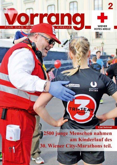 Vorrang, Ausgabe 2/2013 - Österreichisches Rotes Kreuz