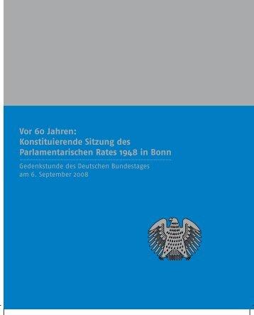 Konstituierende Sitzung des Parlamentarischen ... - Mitmischen.de