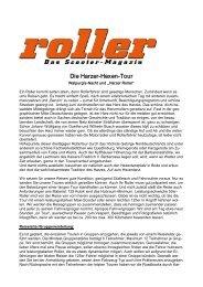 Die Erzgebirgs-TOUR - Motorrad online