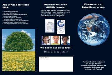 Klimaschutz ist Zukunftssicherung. Wir haben nur diese Erde ... - ERC