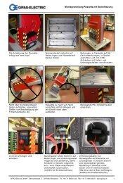 Montageanleitung Piazzetta mit Deckelheizung - Gifas-Electric GmbH