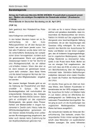 Bundestagsrede - Martin Dörmann