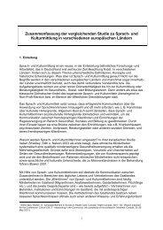 Zusammenfassung der Studie - Transkom