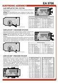 EA 9706 RS-232C INTERFACE FÜR DOTMATRIX ... - LCD elementy - Seite 3