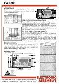 EA 9706 RS-232C INTERFACE FÜR DOTMATRIX ... - LCD elementy - Seite 4