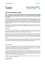 txtr macht PaperC mobil
