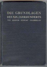 Die Grundlagen des 19. Jahrhunderts - Unilibrary