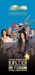 Kinder- und Jugend - CongressForum Frankenthal