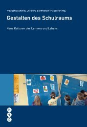 Gestalten des Schulraums - h.e.p. verlag ag, Bern