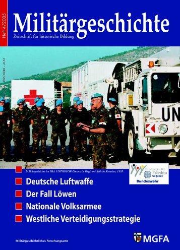 """Zeitschrift """"Militärgeschichte"""""""
