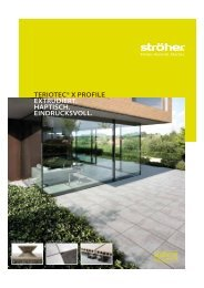 Serienprospekt TerioTec® X Profile - Ströher