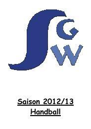 Saisonheft 2012-13 - SG Weissach im Tal eV