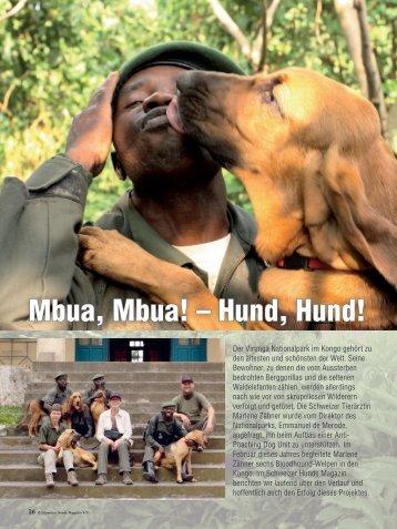 Mbua, Mbua! – Hund, Hund! - Schweizer Hunde Magazin