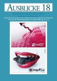 (pdf): Sprachen und Kulturen – Projekte (November, 2003)