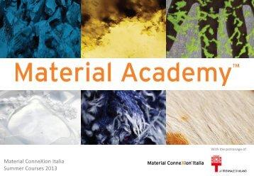 Material ConneXion Italia - Archinfo.it