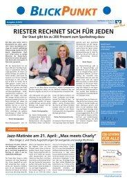 Blickpunkt 3 / 2013 - Raiffeisen-Volksbank Ries eG