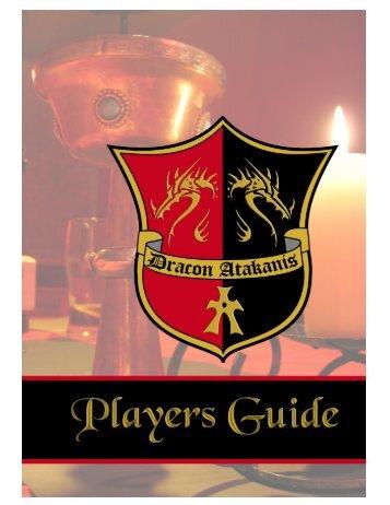 Players Guide - Atakanies LARP eV