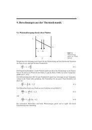 Berechnungen aus der Thermodynamik - Harald Nahrstedt