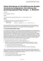 4. BImSchV - Gesetze im Internet