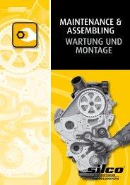 MAINTENANCE & ASSEMBLING WArTuNG uNd MoNTAGE - silco.at