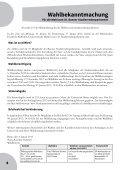 Wahlzeitung - Wahlausschuss zur Wahl des 35 ... - Seite 4