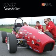 Newsletter 02/2007 - joanneum racing graz