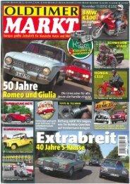 Alfa Romeo Giulia im Oldtimer Markt 11/2012 [PDF] - Miramonti ...