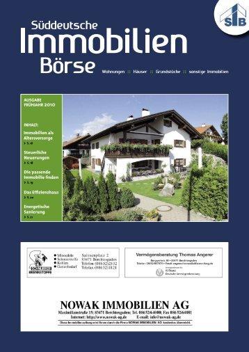 Immobilienzeitung Frühjahr 2010 - Immowelt