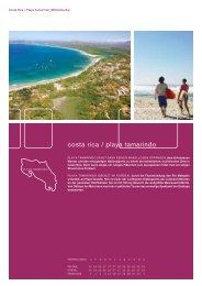 costa rica / playa tamarindo - Sprachen.ch