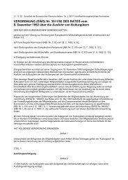 VERORDNUNG (EWG) Nr. 3911/92 DES RATES vom 9. Dezember ...