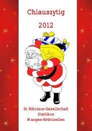 Chlauszytig 2012 - Sankt-Nikolaus-Gesellschaft Dietlikon, Wangen ...