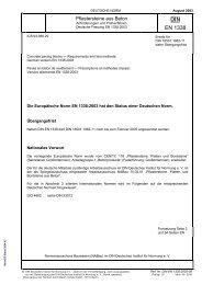 DIN EN 1338 - Krautz Beton