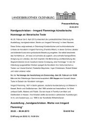 Irmgard Flemmings künstlerische Hommage an literarische Texte