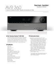 Owner Manual - AVR 158 (English EU) - Harman Kardon on