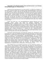 Bericht vom Gegengipfel von B. Schmid - Flüchtlingsrat Hamburg