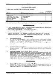 Struktur und Eigenschaften - Kst-chemie.ch