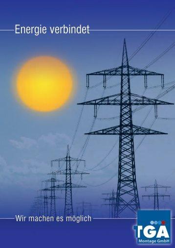 Energie verbindet - TGA Montage GmbH