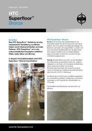 Broschüre: HTC Superfloor™ Bronze