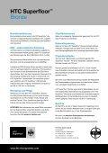 Broschüre: HTC Superfloor™ Bronze - Seite 4