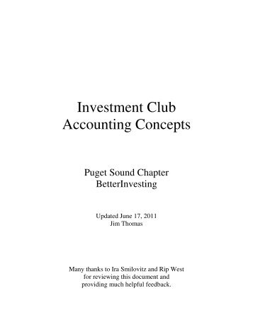 investment club agreements