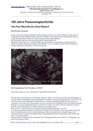 100 Jahre Posaunengeschichte: - Internationale ...
