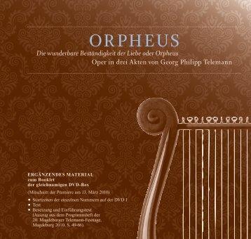 ORPHEUS - Telemann in Magdeburg