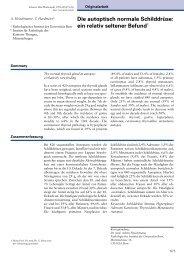 1999-23 Die autoptisch normale Schilddrüse: ein relativ seltener ...