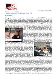Abschlussbericht 2008 - BRASCRI